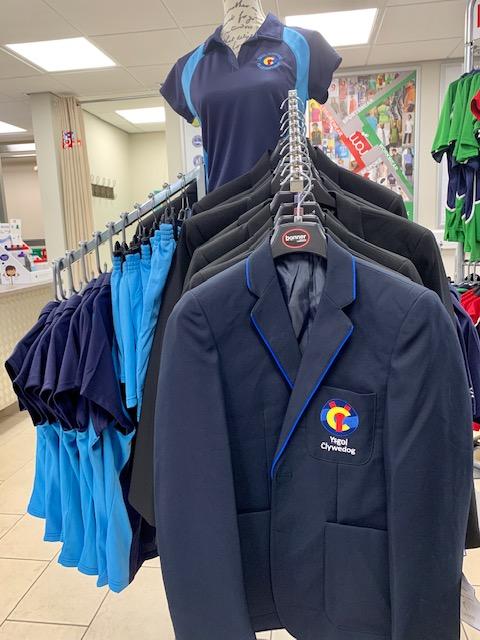 Ysgol Clywedog new school uniform for September 2019 | Ysgol