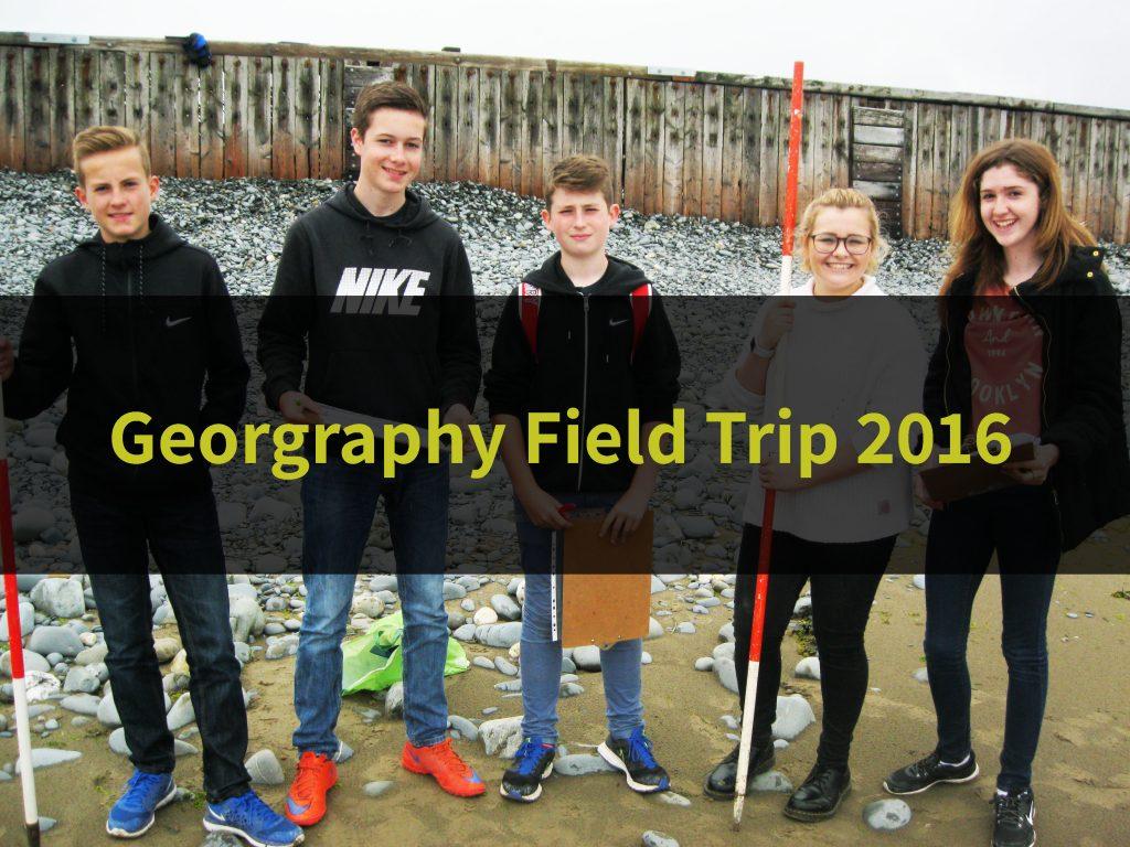 Geography Field Trip 2016
